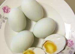 自做咸鸭蛋