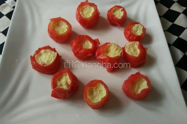 小番茄蒸水蛋
