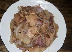 洋葱炒腌肉
