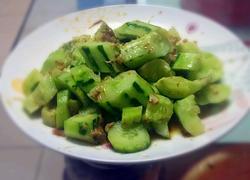 麻汁蒜泥拌黄瓜