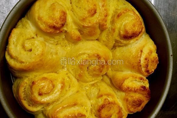 花型椰蓉面包