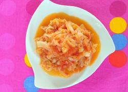 西红柿酱炒大头菜