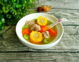 胡萝卜玉米排骨汤[图]