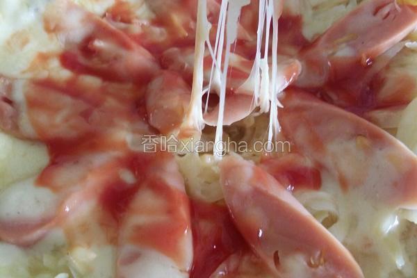 鸡蛋土豆披萨