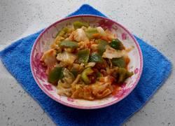 茄汁青椒卷心菜