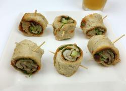韩式烤肉三明治卷