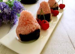 蔓越莓爆浆饭团
