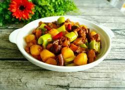 小土豆香菇烧鸡块