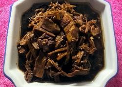 霉菜笋干烧肉