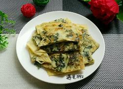 紫苏虾米鸡蛋饼