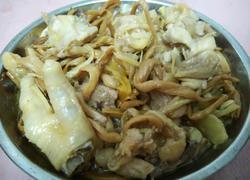 金针菜蒸鸡