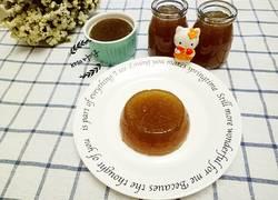 姜汁红糖布丁