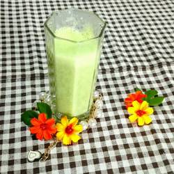 酸奶香瓜汁