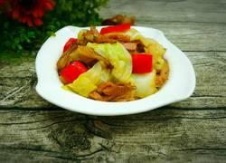 卷心菜炒腊肉