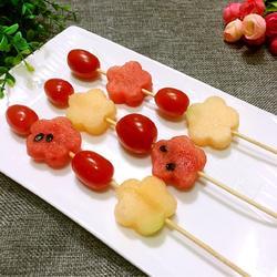 西瓜水果串
