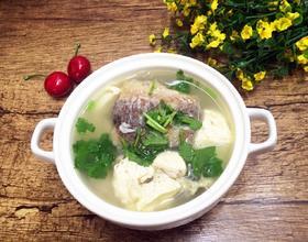 豆腐炖鲫鱼汤[图]