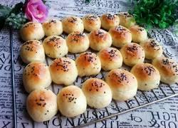 奶油蜜豆迷你小面包