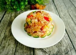 腊肉焖大米饭