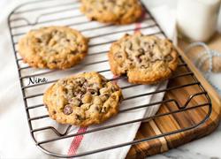 燕麦巧克力豆饼干