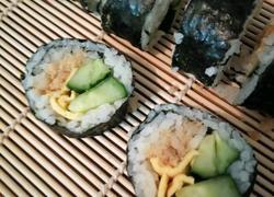 鸡蛋肉松寿司