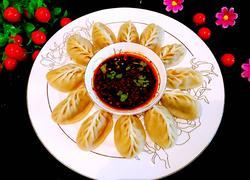 麦穗蒸饺(酸菜青椒鲜肉馅)