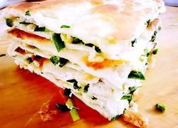 韭菜千层饼