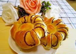 豆沙面包圈