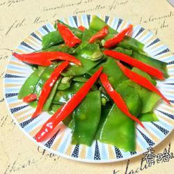 炝炒菜扁豆