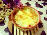 辣白菜培根芝士焗饭的做法[图]