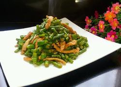 线椒炒豇豆角