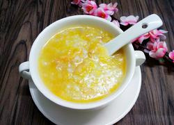 南瓜虾米粥