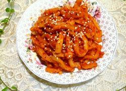 泡菜(韩国酸甜辣萝卜)