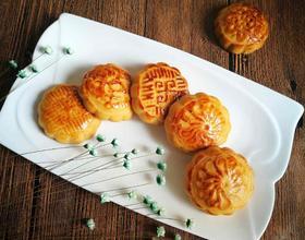 广式月饼(凤梨、栗子馅儿)[图]