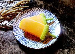 芒果牛奶冰棍
