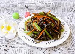 凉拌芹菜海带
