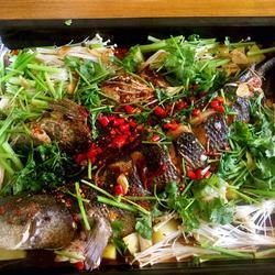 烤箱烤黑鱼