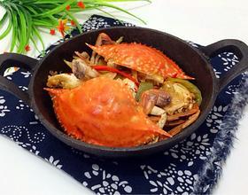 香辣螃蟹[图]