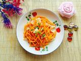 炒胡萝卜的做法[图]