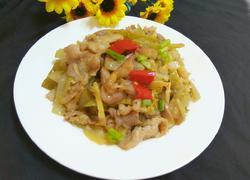 酸菜炒肉丝