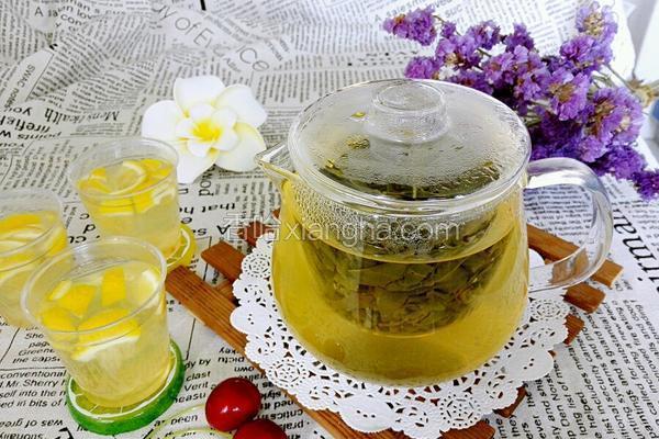 铁观音柠檬茶