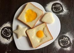 吐司煎鸡蛋