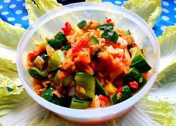 韩国泡菜腌黄瓜