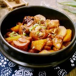 土豆炖鸡肉的做法[图]