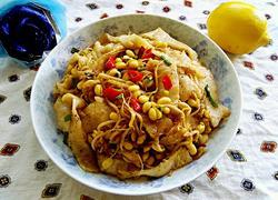 豆芽炒饼丝
