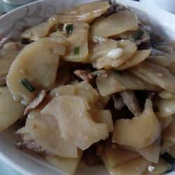 炒土豆片儿