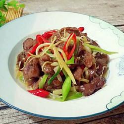 姜丝炒牛肉的做法[图]