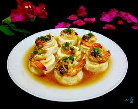 豆腐蒸虾[图]