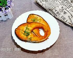 香煎三文鱼扒[图]