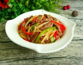 子姜炒牛肉[图]