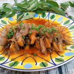金针菇牛肉